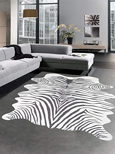 Carpetia Alfombra impresión Alfombra Zebra imitación