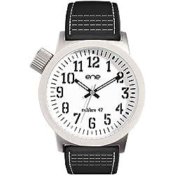 ene-watch Herren-Armbanduhr Analog, Model: 105 / 740008220, NATO-Nylon Armband