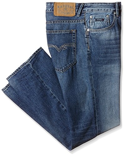 Kaporal Ambro - Jeans - Relaxed - Homme Bleu (Moos)