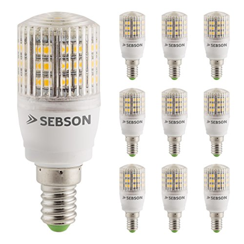 LED 3W Lampe - vgl. 25W Glühlampe - 240 Lumen - E14 LED warmweiß - LED Leuchtmittel 160° ()