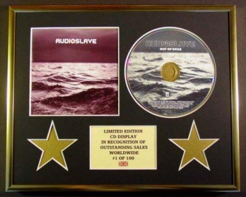AUDIOSLAVE/CD Display/Limitata Edizione/Certificato di autenticità/OUT OF EXILE