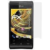 atFoliX Protecteur d'écran pour LG Optimus (GT540) Film Protection d'écran - 3 x FX-Antireflex anti-reflet Film Protecteur