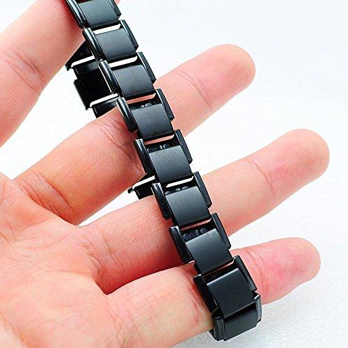 Denshine 80-Germanium-Titan-Energie-Armband Energie Armband-Pain Relief Geschenk für Mann & Frauen