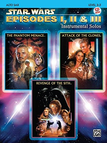 Star Wars - Episodes I, II & III (Alto Sax) (Star Wars-saxophon)