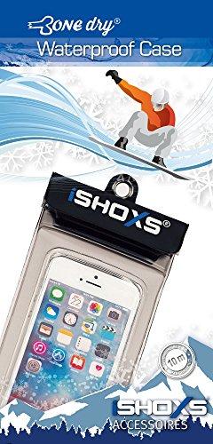 iSHOXS Bone Dry Case M, wasserdichtes Gehäuse für Smartphones, passt für 4,7