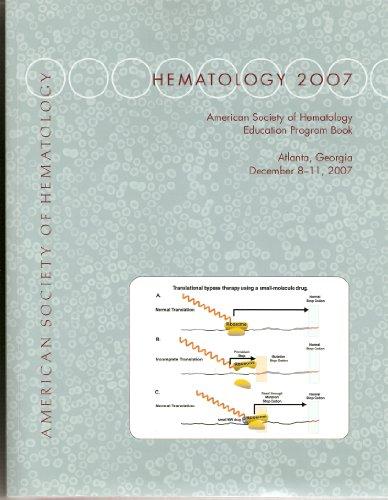 hematology-2007-education-program-book