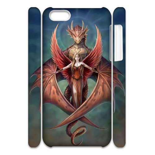 LP-LG Phone Case Of Red Dragon For Iphone 4/4s [Pattern-6] Pattern-5