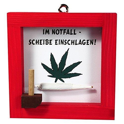 Notfall Set Joint Rot Rauchen Tüte Holz 12cm Scherzartikel