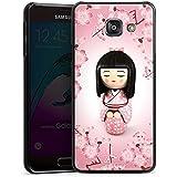 Samsung Galaxy A3 (2016) Housse Étui Protection Coque Sakura Kokeshi Poupée Asie