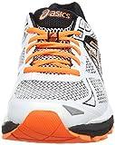 ASICS  GT-2000 3 - Men's Multisport Outdoor Shoes, White (White/Silver/Flash Orange 193), 8.5 UK, 43.5 EU Bild 4
