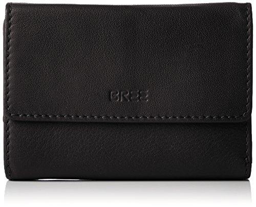 BREE Unisex-Erwachsene Liv 108 Geldbörsen Schwarz (black smooth 909)