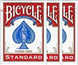51 Mbepq2uL. SL160  - NO.1 BETTING BICYCLE (Baisukuru) 808 STANDARD rider back playing cards poker size deck shrink red 3 pack (japan import)