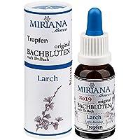 MirianaFlowers Larch 20ml Bachblüten Stockbottle preisvergleich bei billige-tabletten.eu