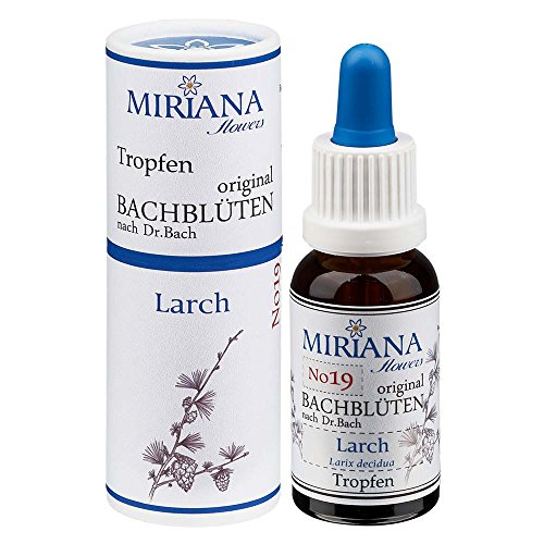 MirianaFlowers Larch 20ml Bachblüten Stockbottle