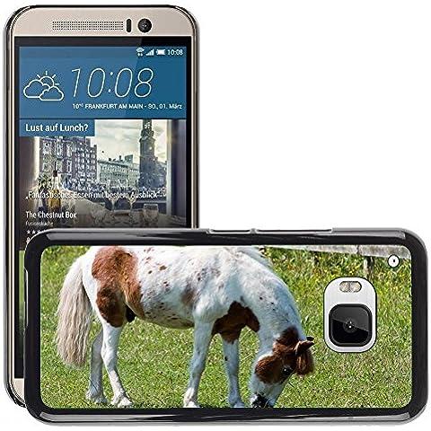 Just Cover Hot Style-Custodia rigida per cellulare, motivo: cavallo/Pony M00140281 pascolo Pretty/Equine/HTC ONE M9