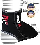 RDX Boxe Fitness Supporto Caviglia Sport Elastica MMA Cavigliera