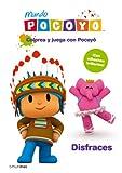 Colorea y juega con Pocoyó. Disfraces: Libro de actividades con adhesivos (Pocoyo)