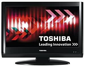 Toshiba 19AV615DB 19-inch Widescreen HD Ready LCD TV with Freeview - Black