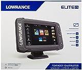 Lowrance Fischfinder/kartenplotter Elite-7 Ti Mid/High/DownScan, 000-12417-001