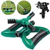 Homemaxs Rasensprenger Garten Sprinkler 3 Arm
