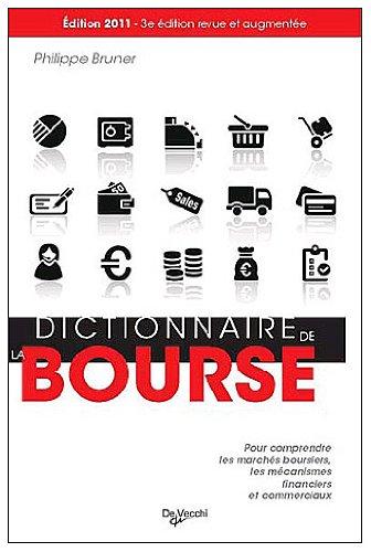 Dictionnaire de la Bourse par Philippe Brunner