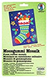 Ursus 8770012 - Moosgummi Mosaik, Stiefelchen, 23 x 16 cm