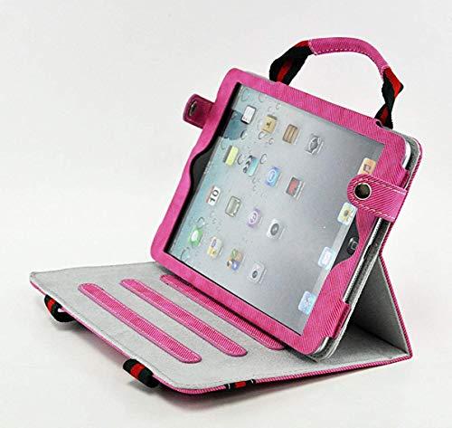livitech (TM) New Tragbar Stoff Handtasche Ständer Schutzhülle Haut für Apple iPad Mini 321Generation Hot Pink