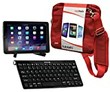 Navitech Tasche für Laptop Red cov Sony Xperia Tablet Z