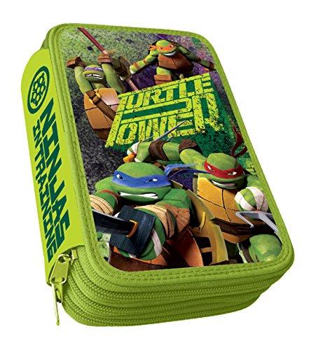 Astro Ninja Turtle – Plumier con 3 cremalleras