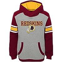 """Washington Redskins Youth Jeunes NFL """"Allegiance"""" Pullover Hooded Sweatshirt chemise"""