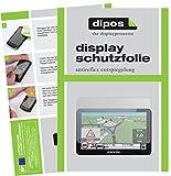 dipos I 3X Schutzfolie matt passend für Snooper Truckmate C8500 Folie Displayschutzfolie