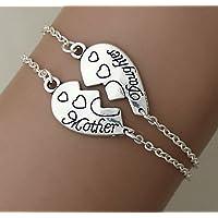 madre e figlia di braccialetti, madre e figlia, gioielli, il braccialetto, la festa della mamma, regali per la mamma, bff.