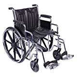 Viva Medi Steel Bariatric 20 Self Propelled Wheelchair