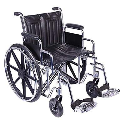 Viva Medi Steel Bariatric 20 Self Propelled Wheelchair