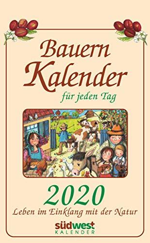 Bauernkalender für jeden Tag 2020 Tagesabreißkalender: Leben im Einklang mit der Natur