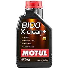 Lubricante Motul 8100 X-Clean+ 5W30, 1 litro