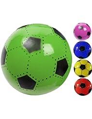 Fútbol 23cm Plástico Plástico Plástico Balón de fútbol Niños Azul Amarillo Rojo Verde, azul