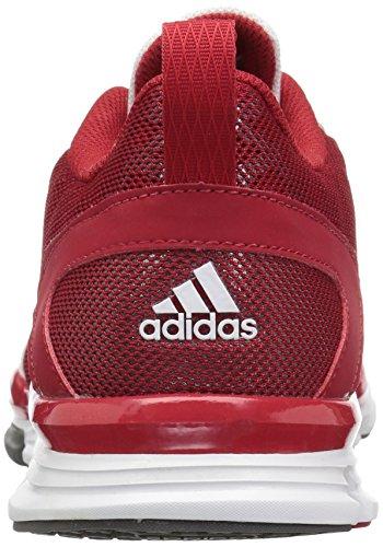 Adidas Performance Speed â??â??Trainer 2 Chaussure d'entraînement, noir / carbone métallisé / Power Red-Carbon Met-White
