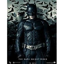 The Dark Knight Rises Batman Poster On Silk <35cm x 45cm, 14inch x 18inch> - Cartel de Seda - 040984