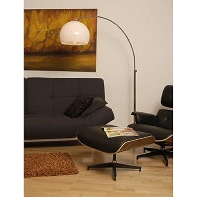 BIG BOW RETRO DESIGN LAMPE von DESIGN DELIGHTS lounge stehlampe bogenlampe von XTRADEFACTORY GMBH bei Lampenhans.de