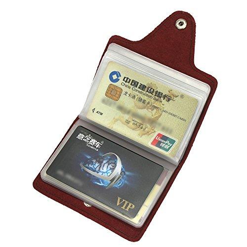 Kartenbörse Kreditkartenetui Leder Portmonee
