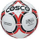 Cosco Torino Football, Size 5  White/Black/Red