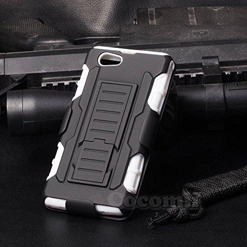 Sony Xperia Z1 Compact Funda, Cocomii Robot Armor NEW [Heavy Duty] Premium...