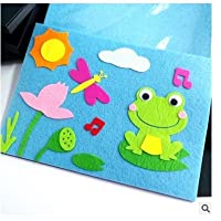 Newin Star Mixed Shapes Frog Flower Sun Sticker for Kids Children Craft DIY Work Decoration
