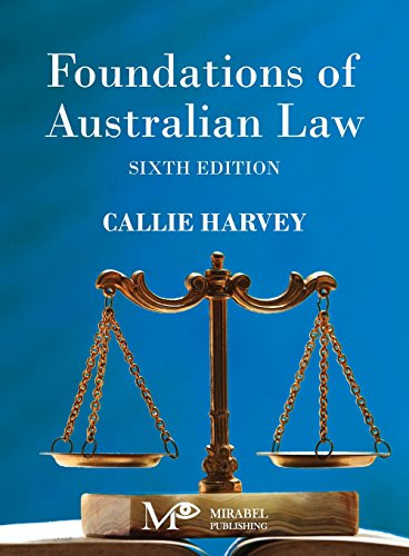Foundations of Australian Law por Callie Harvey