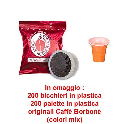 JSD 200 Capsule Caffe BORBONE FAP Espresso Point Miscela Rossa COMPATIBILI CIALDE LAVAZZA Espresso Point + Omaggio