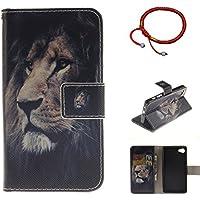 GOCDLJ PU Hülle per Sony Xperia Z5 Compact Muster, Ultra Slim Leder Flip Cover Tasche Ledertasche Handytasche... preisvergleich bei billige-tabletten.eu