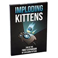 Exploding Kittens Llc Imploding Kittens This Is the First Expansion of Exploding Kittens EKG-1EXP Educational Toy