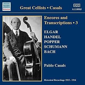 Encores + Transcriptions Vol. 3