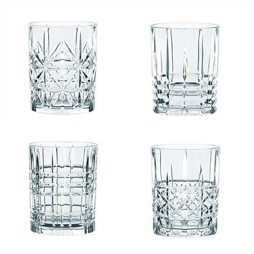 Spiegelau & Nachtmann, 4-teiliges Becher-Set , Kristallglas, 345 ml, Highland, 0095906-0 -